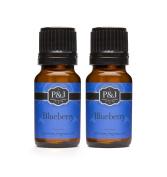 Blueberry Fragrance Oil - Premium Grade Scented Oil - 10ml - 2-Pack
