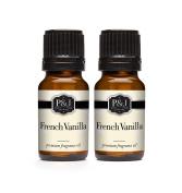 French Vanilla Fragrance Oil - Premium Grade Scented Oil - 10ml - 2-Pack