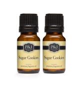 Sugar Cookies Fragrance Oil - Premium Grade Scented Oil - 10ml - 2-Pack