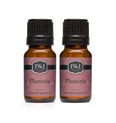 Plumeria Fragrance Oil - Premium Grade Scented Oil - 10ml - 2-Pack