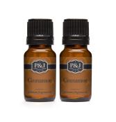 Cinnamon Fragrance Oil - Premium Grade Scented Oil - 10ml - 2-Pack