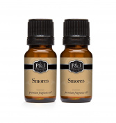 Smores Fragrance Oil - Premium Grade Scented Oil - 10ml - 2-Pack