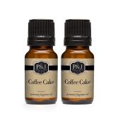 Coffee Cake Fragrance Oil - Premium Grade Scented Oil - 10ml - 2-Pack