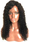 Brazilian Virgin Hair Deep Curly Wave Wig Lace Front Wigs with Baby Hair 100% Human Hair Full Lace Wigs for Sexy Women
