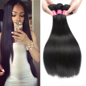 Longjia Wholesale 7A Peruvian Straight Virgin Hair Weave 3 Bundles 100% Unprocessed Virgin Peruvian Straight Hair Human Hair Weave Natural Balck Colour