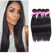 Brazilian Straight Hair 4 Bundles Remy Human Hair Extensions Unprocessed Brazilian Virgin Natural Hair