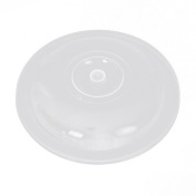 Microwave Food Cover Plate, SANNYSIS Vented Splatter Protector Clear Kitchen Lid Safe Vent