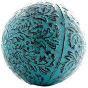Blue Metal Decorative Sphere