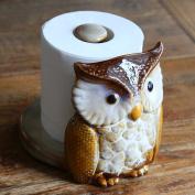Home-organiser Tech Owl Toilet Bathroom Paper Towel Holder Toilet Tissue Roll Holder