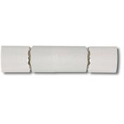 Pearl White Wedding Cracker Favours - 25cm crackers - Pkg of 6