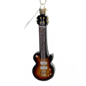 Old World Christmas Bass Guitar Handcrafted Hanging Tree Ornament