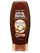 Garnier Whole Blends Smoothing Conditioner with Coconut Oil and Cocoa Butter, 370ml Per Bottle