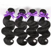 Grace Length Hair 8A Grade Body Wave Brazilian Hair Weave Bundles 100% Unprocessed Brazilian Virgin Hair Body Wave Natural Colour Human Hair Extensions No Tangle
