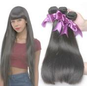 Missexy Hair Peruvian Straight 7a Grade 3 Bundles 100% Real Unprocessed Virgin Human Hair Weave Extension 100g/Bundle