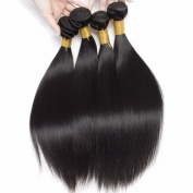 Cherie Hair 7A Peruvian Virgin Straight Hair Weave 3 Bundles 100% Unprocessed Human Hair Extensions Natural Colour Deal with Mixed Lengths
