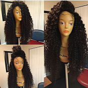 Curly Synthetic Lace Front Wigs Kinky Curly Black Wigs Synthetic Lace Front Wig Heat Resistant Synthetic Wigs For Black Woman