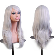 Labetti Cosplay Wigs 70CM Wavy Curly Wig With Free Wig Cap