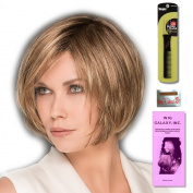 Star (Hair Society Collection) by Ellen Wille, Wig Galaxy Hair Loss Booklet, Wig Cap, & Wig Styling Pick (Bundle - 4 Items), Colour Chosen