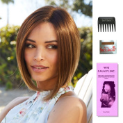 4 Item Bundle : (#2564) Marley XO Plus by Amore Wigs, Wide Tooth Comb, Wig Cap, Wig Galaxy Booklet