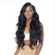 MeiRun 150% Density Body Wave Human Hair For Women Long Wavy Natural Hairline Natural Black Colour