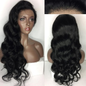 Human Hair Body Wave 100% Real Hair Brazilian Hair Glueless 360 Lace Frontal Wigs Natural Colour from Dream Beauty for women