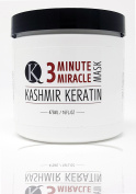 Kashmir Keratin 3 Minute Miracle Treatment Mask Deep Conditioning Sulphate and Paraben Free