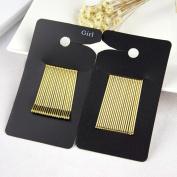 J-Beauty Girl Women Gold Hair Pins 40Pcs