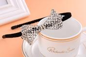 RUNHENG Women Flapper Beaded Butterfly Headband