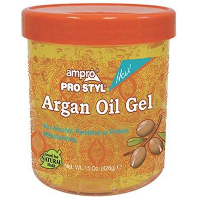 AMPRO GEL ARGAN OIL 440ml - NO Alcohol, Parabens or Protein