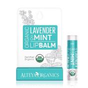 Alteya Organics USDA Organic Lip Balm with Lavender & Mint