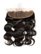 Slove Hair 100% Unprocessed Brazilian Body Wave Virgin Human Remy Hair Pre Plucked 13x 4 Free Part Full Frontal Lace Closure 41cm
