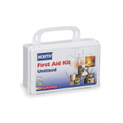 First Aid Kit, Unitized, White, 5 People