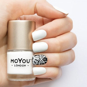 MoYou London Stamping Nail Lacquer - White Knight