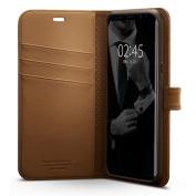 Spigen Galaxy S8+ Premium Wallet Case for Galaxy S8+ - Coffee Brown,Convenience,Premium Quality, 3