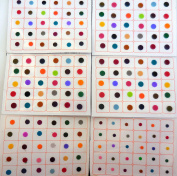 720 Bindi Count Multi colour Multi Size Polka Dots Indian Daily Use or Craft work bindi