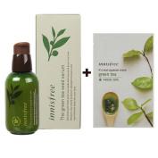 Innisfree The Green Tea Seed Serum 100% Organic Ingredient 2.7 Oz/80Ml