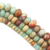 """COIRIS 15"""" Strand 6x4mm Beads Natural Real Stone For Jewellery DIY Making Design"""