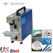 USA Stock - High Speed 20W Portable Fibre Laser Marking Machine for Metal and Non-metal Material