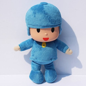 "Pocoyo Plush Anime 10"" / 25cm Pocoyo Cartoon Character Doll Stuffed Animals Cute Soft Collection Toy"