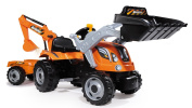 Smoby Builder Max Tractor Toy With Trailer
