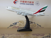 TANG DYNASTY(TM) 1:400 Standard Edition Air Bus A380 Emirates Airlines Metal Aeroplane Model Plane Toy Plane Model