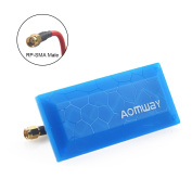 Crazepony Aomway 5.8G Panel Antenna Flat Antenna 13db SMA Male for FPV Multicopter