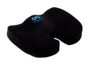 Everlasting Comfort 100% Pure Memory Foam Luxury Seat Cushion, Orthopaedic Design To Relieve Back, Sciatica and Tailbone Pain