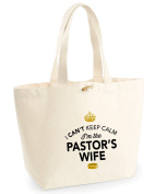 Pastors Wife, Pastors Wife Bag, Tote Bag, Pastors Wife Keepsake, Wedding Gift, Present, Bride to be, Pastors Wife Bag, Hen Do Gifts, Ideas For Pastors Wife, Keepsake