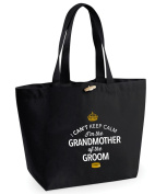 Grandmother of Groom, Grandmother of Groom Bag, Tote Bag, Grandmother of Groom Keepsake, Wedding Gift, Present, Grandmother of Groom, Grandmother of Groom Bag, Hen Do Gifts, Ideas For Grandmother of Groom, Keepsake