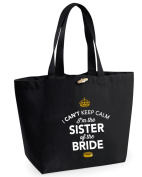 Sister of Bride, Sister of Bride Bag, Tote Bag, Sister of Bride Keepsake, Wedding Gift, Present, Sister of Bride, Sister of Bride Bag, Hen Do Gifts, Ideas For Sister of Bride, Keepsake