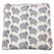 Bambino Land Big Bambino Bamboo Single Layer Muslin Blanket - Sheep