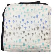 Bambino Land Bamboo Double Layer Muslin Blanket - Hot Air Balloons