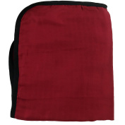 Bambino Land Big Bambino Bamboo Double Layer Muslin Blanket - Red