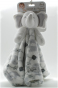 Blankets & Beyond Elephant Security Blanket - White Sm Elephant Tapestry